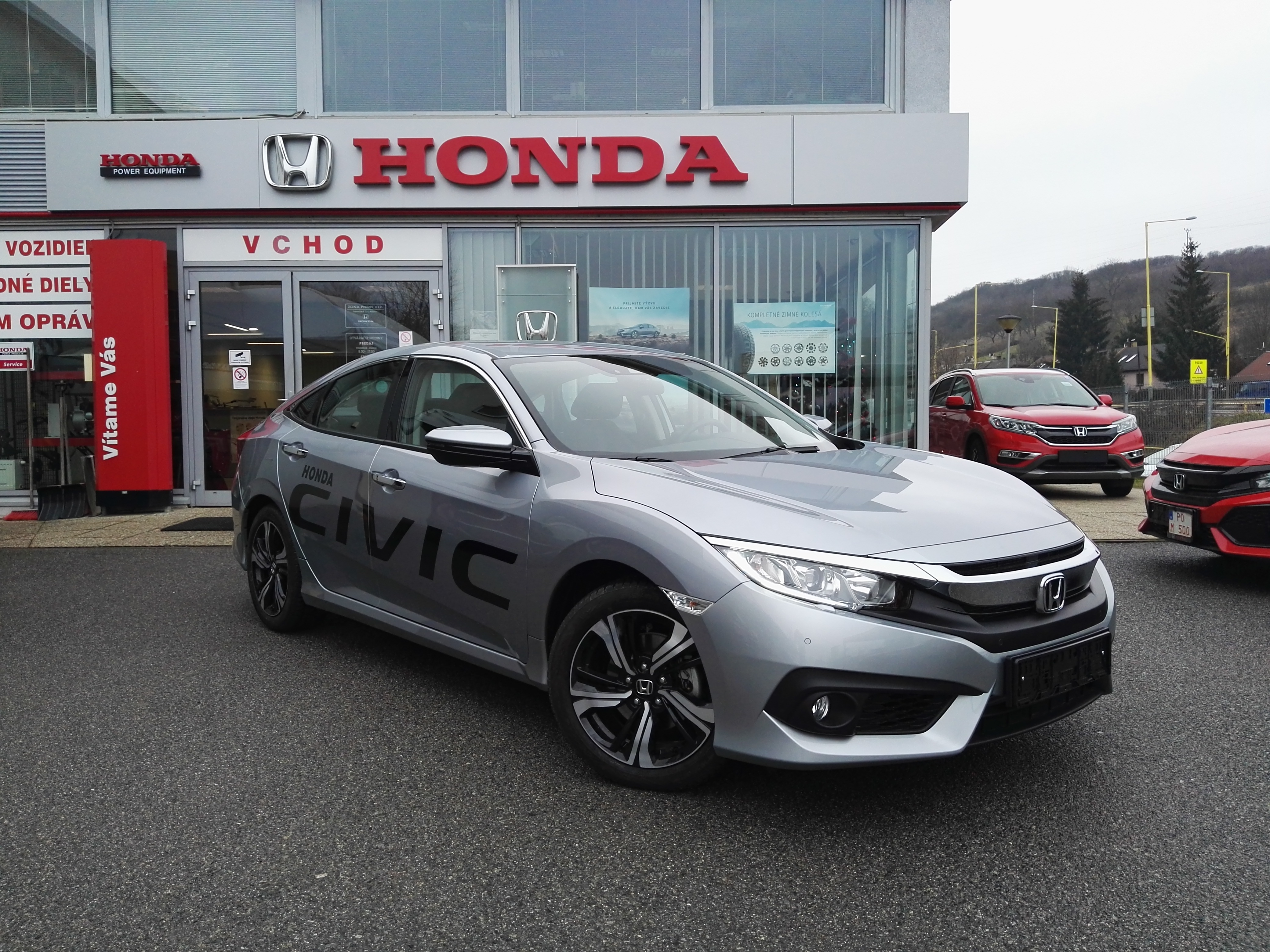 CIVIC Sedan 1,5 VTEC Turbo ELEGANCE 6MT